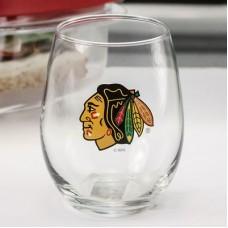 Chicago Blackhawks - Stemless NHL Vínový Pohár