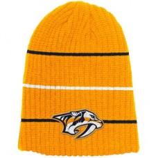 Nashville Predators - Face-off Textured Stripe NHL Knit Zimná čiapka