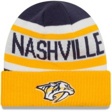 Nashville Predators Detská - Biggest Fan 2.0 Cuffed NHL Knit Zimná čiapka