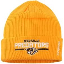 Nashville Predators - Center Ice Locker Room Cuffed NHL Knit Zimná čiapka