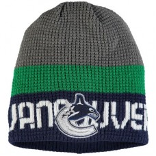 Vancouver Canucks - Center Ice Uncuffed NHL Knit Zimná čiapka