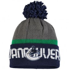 Vancouver Canucks - Center Ice Cuffed NHL Knit Zimná čiapka