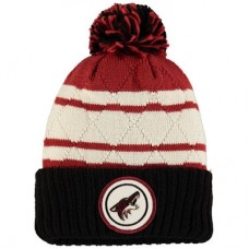 Arizona Coyotes - Quilted Crown Jersey Stripe Hi-Five NHL Knit Zimná čiapka