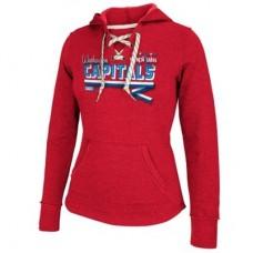 Washington Capitals Dámska - Classic Ribbon NHL Mikina s kapucňou