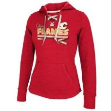 Calgary Flames Dámska - Classic Ribbon NHL Mikina s kapucňou