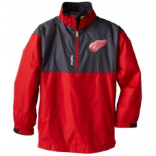 Detroit Red Wings Detská - Center Ice 1/4 Zip NHL Bunda