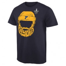 St. Louis Blues - 2016 Stanley Cup Playoffs Bearded V NHL Tričko