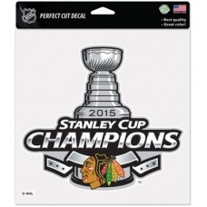 Chicago Blackhawks - 2015 Stanley Cup Champs NHL Big nálepka