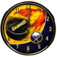 Buffalo Sabres - Flame Chrome NHL Hodiny