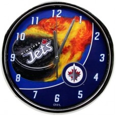 Winnipeg Jets - Flame Chrome NHL Hodiny