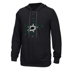 Dallas Stars - Center Ice TNT Logo Reflect Performance NHL Mikina s kapucňou