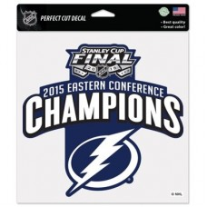 Tampa Bay Lightning - 2015 Eastern Conference Champions NHL Nálepka