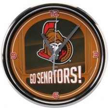 Ottawa Senators - Go Team Chrome NHL Hodiny