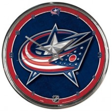 Columbus Blue Jackets - Round Wall FF NHL Hodiny