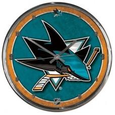 San Jose Sharks - Round Wall FF NHL Hodiny