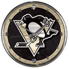 Pittsburgh Penguins - Round Wall FF NHL Hodiny