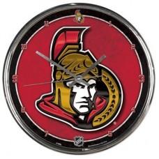Ottawa Senators - Round Wall V NHL Hodiny