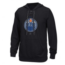 Edmonton Oilers - Center Ice TNT Logo Reflect Performance NHL Mikina s kapucňou