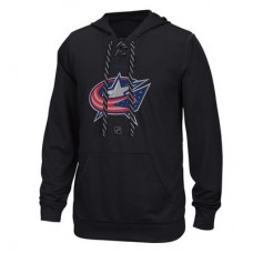 Columbus Blue Jackets - Center Ice TNT Logo Reflect Performance NHL Mikina s kapucňou