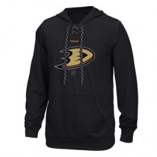 Anaheim Ducks - Center Ice TNT Logo Reflect Performance NHL Mikina s kapucňou