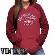 Montreal Canadiens Dámska - Relaxed Pullover NHL Mikina s kapucňou