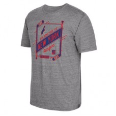 New York Rangers - CCM Our Home Our Ice Tri-Blend NHL Tričko