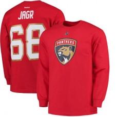 Florida Panthers - Jaromir Jagr NHL Tričko s dlhým rukávom