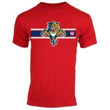 Florida Panthers - Striped Logo NHL Tričko