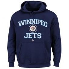 Winnipeg Jets - Heart & Soul NHL Mikina s kapucňou