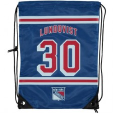 New York Rangers - Henrik Lundqvist Player Elite Drawstring NHL Vrecko
