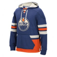 Edmonton Oilers - CCM Pullover NHL Mikina s kapucňou
