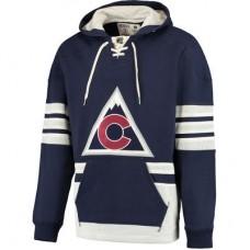 Colorado Avalanche - CCM Pullover NHL Mikina s kapucňou