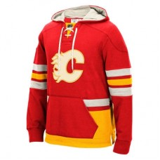 Calgary Flames - CCM Pullover NHL Mikina s kapucňou
