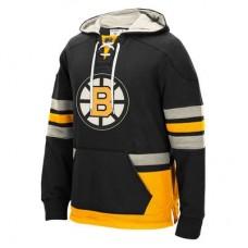 Boston Bruins - CCM Pullover V NHL Mikina s kapucňou