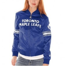 Toronto Maple Leafs Dámska - Blitz Satin NHL Bunda