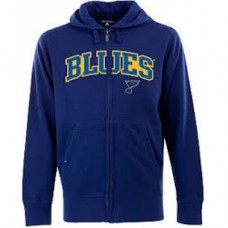 St. Louis Blues - Antigua Signature Full Zip V NHL Mikina s kapuňou