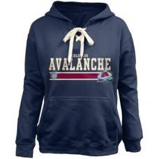 Colorado Avalanche Detska - Skate Lace NHL Mikina s kapucňou