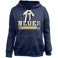 St. Louis Blues Detska - Skate Lace NHL Mikina s kapucňou