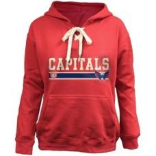 Washington Capitals Detská - Skate Lace NHL Mikina s kapucňou