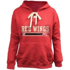 Detroit Red Wings Detska - Skate Lace NHL Mikina s kapucňou
