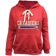 Montreal Canadiens Detska - Skate Lace NHL Mikina s kapucňou