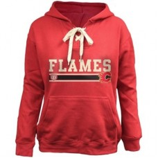 Calgary Flames Detska - Skate Lace NHL Mikina s kapucňou