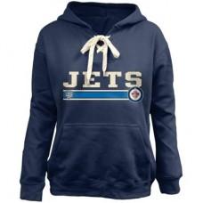 Winnipeg Jets Detska - Skate Lace NHL Mikina s kapucňou