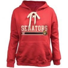 Ottawa Senators Detska - Skate Lace NHL Mikina s kapucňou
