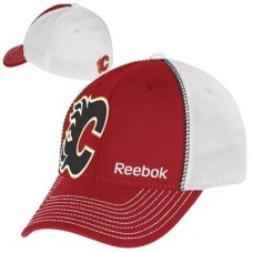 Calgary Flames - Structured Flex FF NHL Čiapka