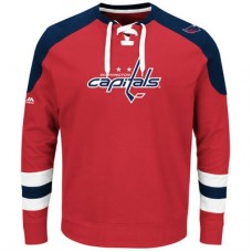 Washington Capitals - Centre Lace-Up NHL Tričko s dlhým rukávom