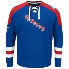 New York Rangers - Centre Lace-Up NHL Tričko s dlhým rukávom