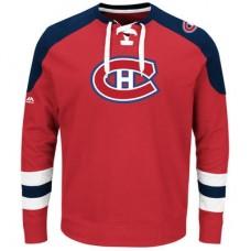 Montreal Canadiens - Centre Lace-Up NHL Tričko s dlhým rukávom