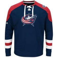 Columbus Blue Jackets - Centre Lace-Up NHL Tričko s dlhým rukávom