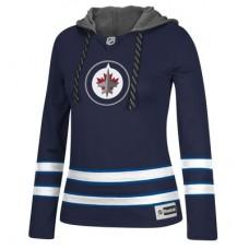 Winnipeg Jets Dámska - Jersey Pullover NHL Mikina s kapucňou